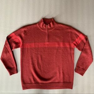 Men's Patagonia Wool 1/4 Zip Sweater